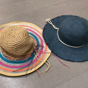 Other - Girls straw hats